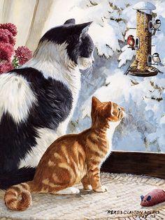 Коллекция картинок: Котики Persis Clayton Weirs