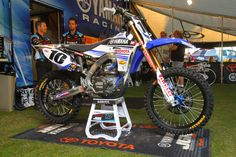 """Justin Braytons JGR MX-yz450f  """"The JGR YZ450F is the closest to a Factory Yamaha as you can get. It has input from both JGR and Yamaha with regard to development and trick parts."""" Motocross.com"""