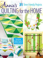 Quilt Pattern Books - Quilting for the Home