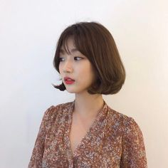 Short Hairstyles, Haircuts, Hair Job, Korean Short Hair, Perm, Medium Hair Styles, Vintage Outfits, Nails, Color