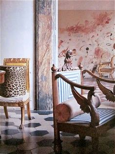 Cy Twombly's  home in Rome
