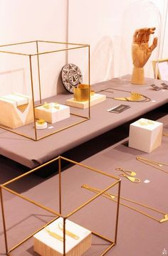 Nile Corp. Blog : Modern Minimalist Jewelry Display Ideas