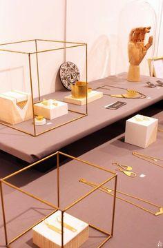 Nile Corp. Blog : Modern Minimalist Jewelry Display Ideas