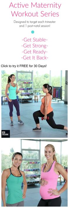 Active Maternity Workout Series by Autumn Calabrese for Beachbody On Demand 21 Day Fix Extreme, Post Baby Body, Postnatal Workout, Pregnancy Stages, Workout Humor, Pregnancy Workout, Baby Love, At Home Workouts, Fit Pregnancy