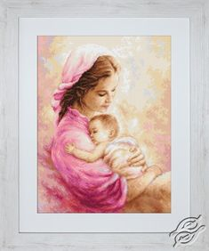 Mother and Child II - Cross Stitch Kits by Luca-S - B536