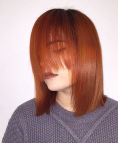 Orange is the new black  #wellahair #revlon #hair #hairinspo #orange #freshcut #fierce #olaplex #olaplexnorway #babe
