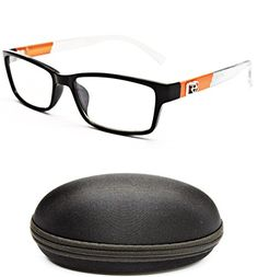 94c2017f3b ... Designer Eyewear Clear Lens Fashion Sunglasses 5053 BlackOrange clear     Check out the image by visiting the link.Note It is affiliate link to  Amazon.