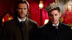 Dean Winchester is a pretty queen -- Supernatural