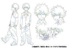 My Hero Academia Anime Reveals Katsuki Bakugō's Color Design - News - Anime News Network:UK