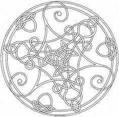 151898-celtic-mandala-coloring-pages.jpg (643×635)