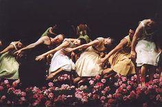 pina bausch & her work Nelken, Carnations, 2005  http://www.ballet.co.uk/gallery/jr_pinabausch_nelken_0205/jr_pinabausch_nelken_tables_500