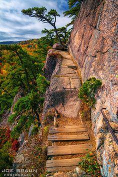 Beehive Trail photo (Acadia National Park) -- © 2014 Joe Braun Photography