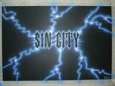 Sin City Logo & Lighting Effect!