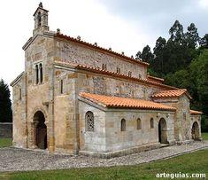 Una de las más sublimes obras del arte prerrománico asturiano: San Salvador de Valdediós