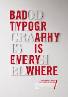 poster. good design, bad design.: