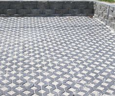driveway    Permeable Concrete Pavers and Turfstone Idea & Photo Gallery - Enhance Companies - Brick Paver Installation and Sales - Jacksonville, Gainesville, Orlando, Daytona, St. Augustine, Florida - Brick Paving and Hardscape Supply