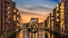 Man Made Hamburg  City Germany Wallpaper