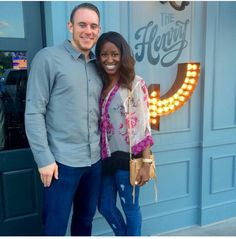Gorgeous interracial couple on a date night #love #wmbw #bwwm