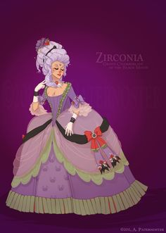 Historical Guardian Zirconia by paisley.deviantart.com on @deviantART