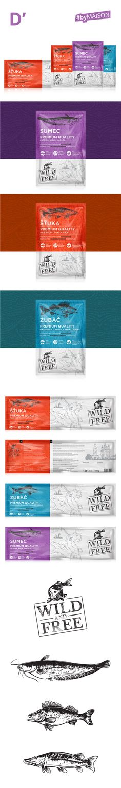 WILD AND FREE PACKAGING DESIGN FOR FISH