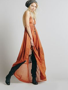 Free People Endless Summer Triangle Top Maxi, $118.00