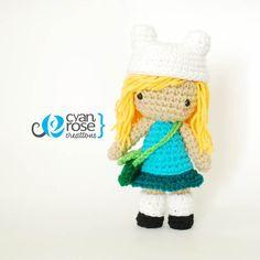 Finn Inspired Crochet Amigurumi Plush Doll - Inspired in Adventure Time