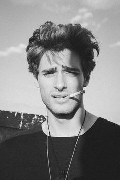 Daniel Bederov at Elite Models in Paris teams up once again with Jake Senfeld for a fresh portrait session - September 2014