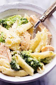 Three Cheese Chicken Broccoli Alfredo