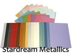 Stardream Metallic Card Stock