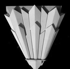 New Art Deco fibrous plaster cornice mouldings, corbels, ceiling . Casa Art Deco, Art Deco Decor, Art Deco Home, Art Deco Design, Decoration, Art Nouveau, Art Deco Tattoo, Muebles Art Deco, Plaster Art