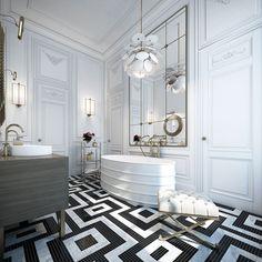 ...or is it?         Israel-based Ando Studio designed this apartment in Saint Germain, Paris last...