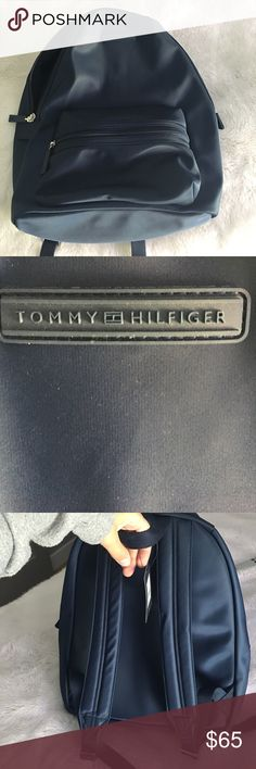 Tommy Hilfiger backpack Brand new and never used. No scratches or rips. Very cute and chic Tommy Hilfiger Bags Backpacks