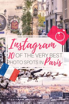 Instagram guide to Paris. Here are 10 of the most photogenic and instagrammable spots in the French Capital, Paris. Top photo locations in Paris, France revealed!