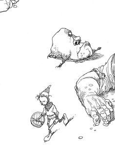 chrisriddellblog:  Giant Killer