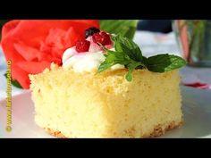 Prajitura cu gris si vanilie | Farfuria vesela - YouTube Romanian Desserts, No Cook Desserts, Pound Cake, Vanilla Cake, Cheesecake, The Creator, Cooking Recipes, Sweets, Make It Yourself