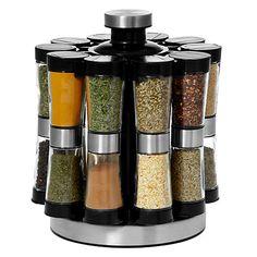 Buy John Lewis Filled Spice Rack, 20 Jar Online at johnlewis.com