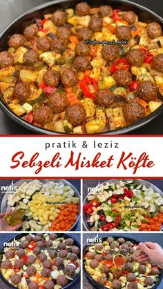 Easy Pasta Recipes, Meat Recipes, Easy Meals, Cooking Recipes, Healthy Recipes, Turkish Recipes, Indian Food Recipes, Italian Recipes, Ethnic Recipes