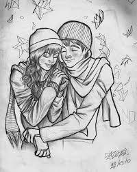 Resultado de imagem para desenhos em preto e branco romanticos
