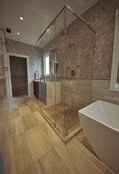 Travertine Tile Bathroom Remodel In Sunset District San Francisco - Bathroom remodel san francisco