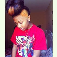 Groovy Half Up Half Down Weave Quickweave Bun Blackhair Topbun Short Hairstyles For Black Women Fulllsitofus