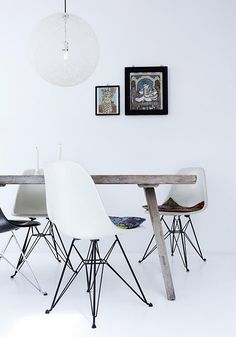 chair, table en light#Repin By:Pinterest++ for iPad#