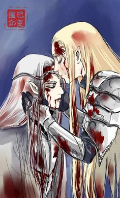 Oropher and Thranduil