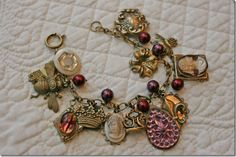 Charm bracelet - each guest brings a charm to represent/help mom through