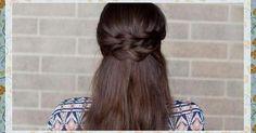 Peinado sencillo con dos trenzas paso a paso, ¡no te lo pierdas!