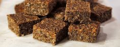 Carrot Walnut Oat Bars - Daphne Oz - WW 5 SP or 4SP without shredded coconut