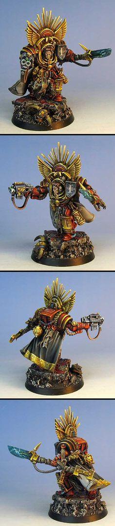 Grey Knight grand master (Marneus conversion)