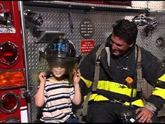 Community Helpers Week: Fire Safety Song For Kids (Novus Security) Totally cheesy, but it sticks in their heads, which is the point.