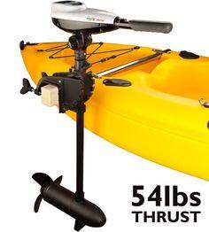 Kayak mount motor mount for all pelican kayaks for Kayak electric trolling motor