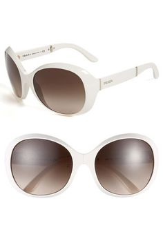 Oversized Sunglasses by Prada