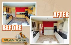 Kitchen Respray to f&B Lime white Kitchen Respray, Restoration, Lime, Bed, Furniture, Home Decor, Decoration Home, Stream Bed, Room Decor